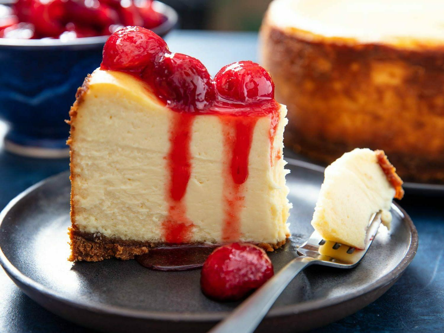 Freeze fully sliced cheesecake Camping Survival Storage Food