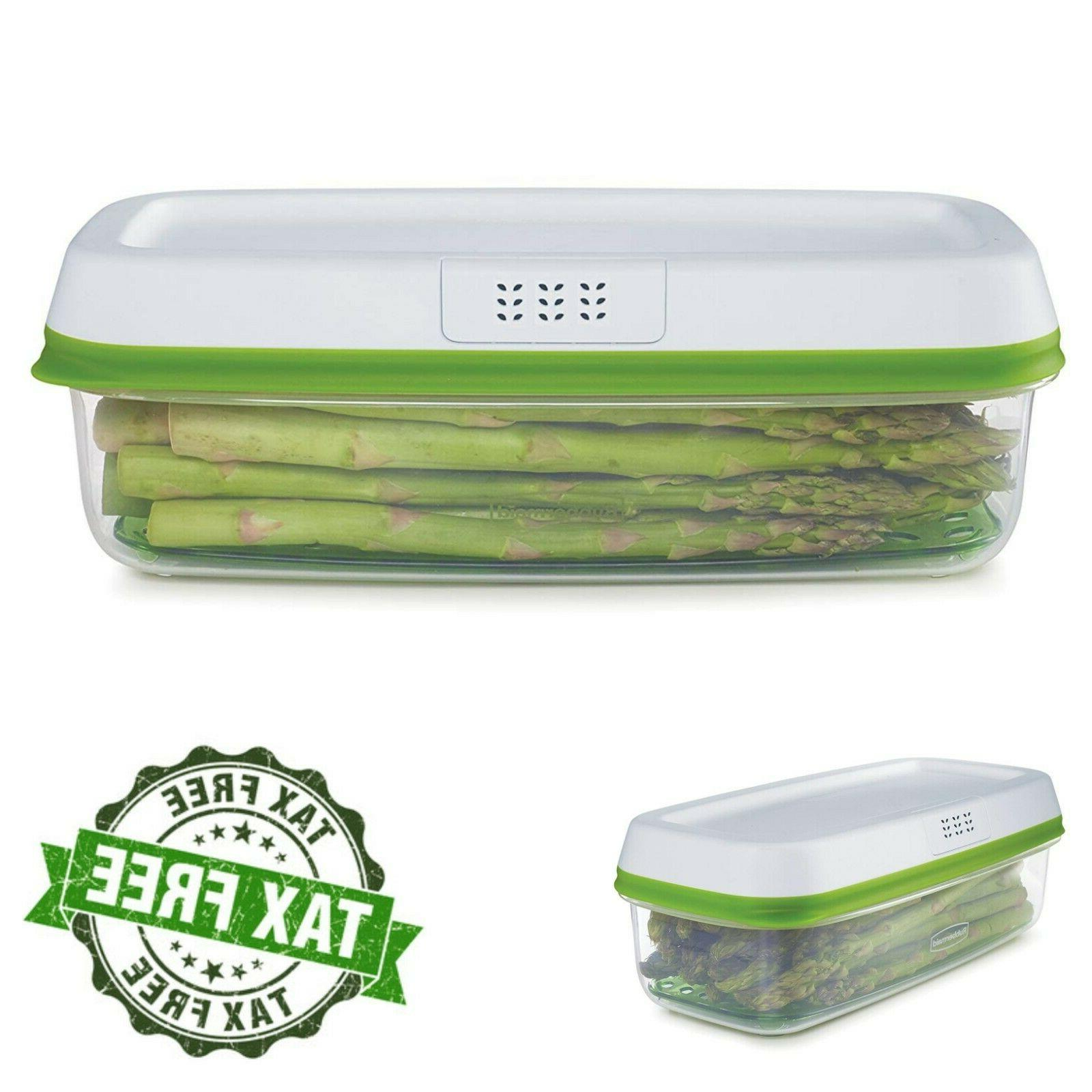 Rubbermaid FreshWorks Produce Saver Food Storage Container 8
