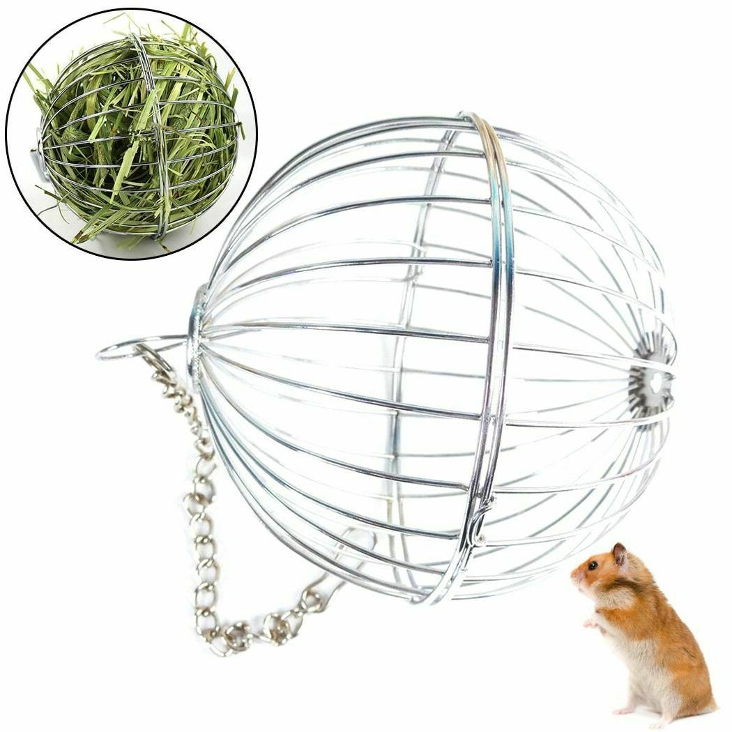 Grass Ball Food Storage Hanging Round Shaped Stainless Steel