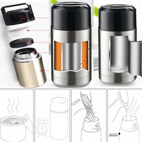 Insulated Thermos, Jar Soup