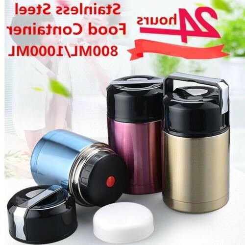 insulated food storage container thermos food jar