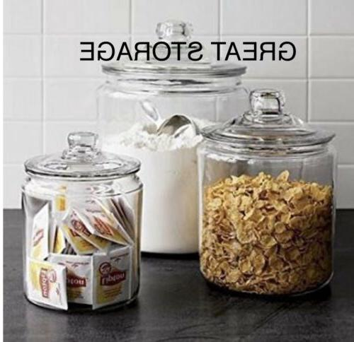 Anchor Gal Food Clear Storage Home Lid Container!!!!