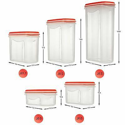 LARGEST Set of Pc Airtight Containers