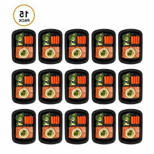 Meal Prep Compartment Lids Storage Bento,Lunch