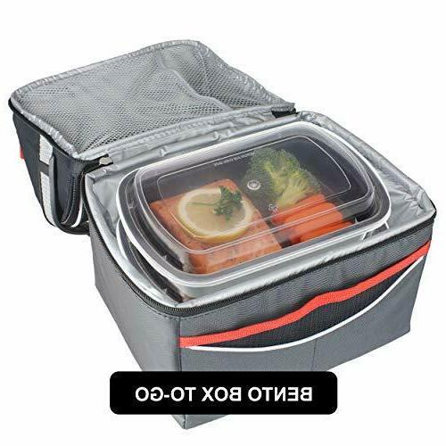 Meal Prep Compartment with Lids Food Storage