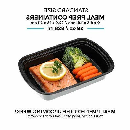 Meal Prep Compartment Food Storage