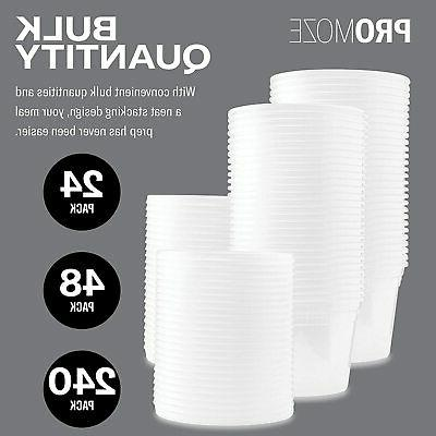 Plastic Food Containers 48 Oz