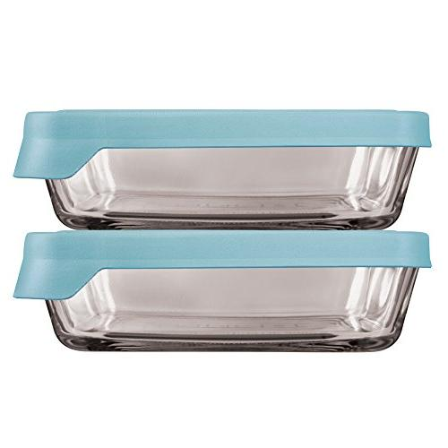 trueseal glass food storage containers