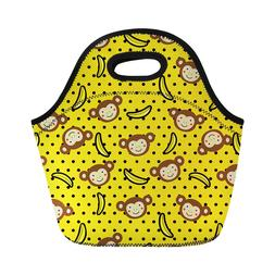 Lunch Bag Insulated Handbag for Kids Students School Office
