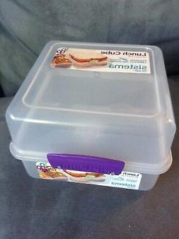 SISTEMA LUNCH CUBE TO GO 47.3 OZ REUSABLE STORAGE CONTAINER