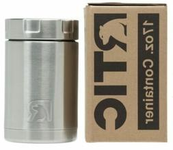 New RTIC 17oz Food Container ~ STAINLESS STEEL Insulated Can