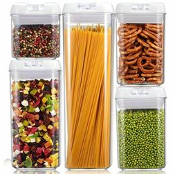 NEW Airtight Food Storage POP Container Set Durable BPA Free