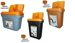 Pet Food Container Dog Cat Animal Bird 28KG 15KG 8KG Dry Fee