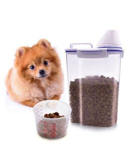 Tiovery Pet Food Storage Container, Small Dog Food Container