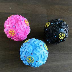 Pet Puppy Fetch Ball Squeaky Toy Treats and Chews Store Food
