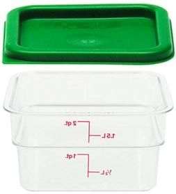 Cambro Polycarbonate Square Food Storage Containers