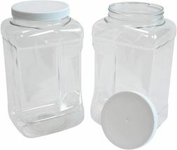 Prepared Food Containers, 50 Pieces, Disposable Plastic Boxe