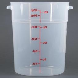 CAMBRO RFS22PP190 POLYPROPYLENE ROUND STORAGE CONTAINERS / 2