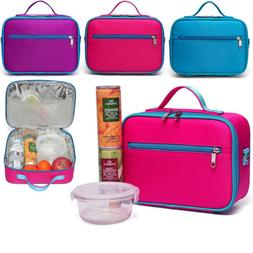 School Lunch Bag Container Picnic Food Storage Boys Girls Bo