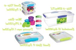 RUBBERMAID SISTEMA 13 PIECE CONTAINERS 199 - NEW