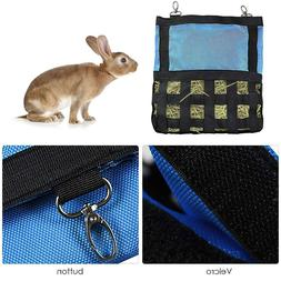 Small Animals Hay Bag Hanging Feeder Food Sack for Rabbit Ch
