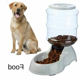 Small Dog Food Dispenser Storage Container Pet Cat Gravity B