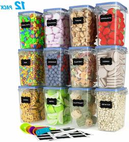 SPACE SAVER Food Storage Airtight Pantry Containers Kitchen