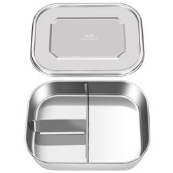 Stainless Steel Bento Lunch Box Food Container Storage,1800m