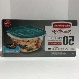 Rubbermaid Take Alongs 50 Piece Food Storage Set with 2 Meal