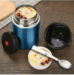 Thermos Stainless Steel Food Container Lunch Insulated Vacuu