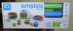 Sistema To Go 25 Piece Set Food Storage Containers Phthalate