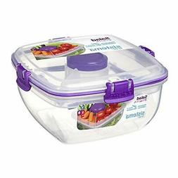 Sistema To Go Collection Salad Compact Food Storage Containe