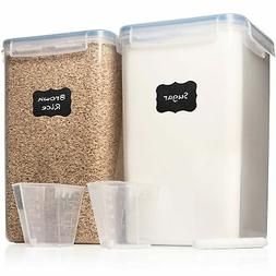 XXL 7 qt / 6.5 L Food Storage Airtight Pantry Containers  WI
